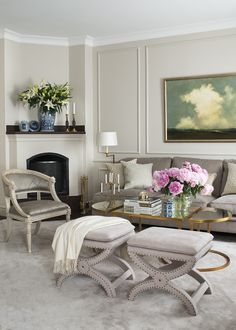 painting by Ove Pihl in a Pied á Terre by