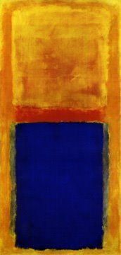 Art and Archaeology: <i>Homage to Matisse</i>, by Mark Rothko. Oil on canvas, 1953. Sold for $22.5 million in 2005 at Christie's