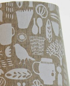 print & pattern: TEXTILES - maxine sutton brown dry brush with white… Textiles, Textile Patterns, Textile Design, Fabric Design, Gelli Printing, Printing On Fabric, Screen Printing, Shape Patterns, Print Patterns