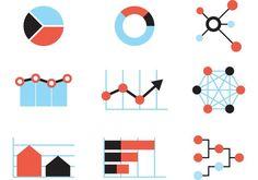 Big Data Vector Charts Free Vector Art, Vector Icons, Vector Illustrations, Graphic Design Projects, Big Data, Art Images, Clip Art, Creative, Free Downloads