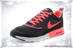 Nike Air Max Thea Print Bianco / Nero / Rosa 599409-016 Donna palloni calcio