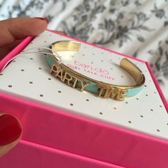 Ban.do Girl Talk Cuff Brand new still in box as pictured! ban.do Jewelry Bracelets