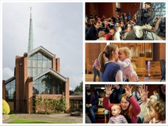 Bach to Baby concerts in Dulwich Village at St Barnabas church.