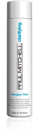 Paul Mitchell Shampoo Three® - Deep cleansers help remove chlorine, iron, minerals and medication from hair. Shampoo For Hard Water, Best Clarifying Shampoo, Paul Mitchell Hair Products, Best Shampoos, Wet Hair, Hair Tools, Summer Hairstyles, Hair And Nails, Health And Beauty
