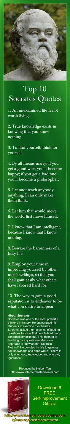 Top 10 Socrates Quotes #philosophy