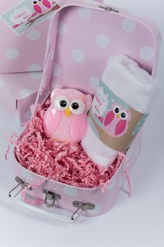 Pink soap Owl