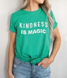 Kindness is Magic Graphic Tee - XL