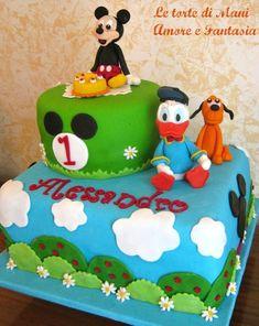 Torta decorata Topolino & friends…
