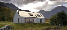 Love all designs on their website. Modern self build house kits from Hebridean Contemporary Homes Self Build House Kits, Self Build Houses, House Plans, Prefabricated Houses, Prefab Homes, Metal Building Homes, Building A House, Style At Home, Sip House