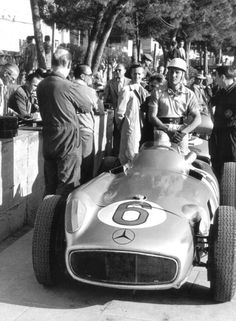 Stirling Moss at Monaco 1955