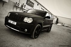 Jeep SRT8 - pull off the chrome and throw some limo on and this car is mine