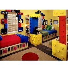 Charmant Bed Spacing Bedroom Themes, Bedroom Decor, Kids Bedroom, Bedroom Designs,  Lego Theme