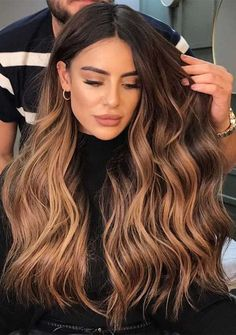 Brown Hair Balayage, Blonde Hair With Highlights, Brown Blonde Hair, Balayage Hair Blonde, Ombre Hair, Baliage Hair, Dark Blonde, Blonde Brunette, Honey Brown Hair