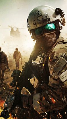 Airsoft is a shooting sport that involves military tactics in order to achieve certain objectives set by the rules. Call Of Duty, Indian Army Special Forces, Ghost Soldiers, Army Pics, Battlefield 5, Military Drawings, Army Wallpaper, Hd Wallpaper, Future Soldier
