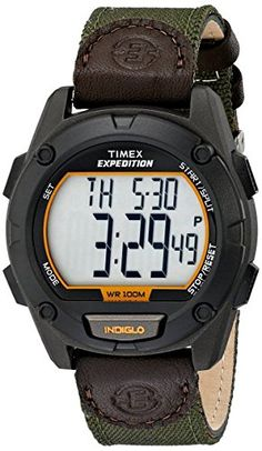 Timex Expedition Full Pusher CAT Digital Watch T49947 *** Read more by visiting the link on the image.