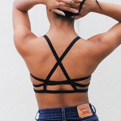 Strappy Bralette by Luxeton on Etsy, $35.00
