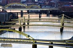 Pittsburgh bridges - cities with most in the world 446!!!