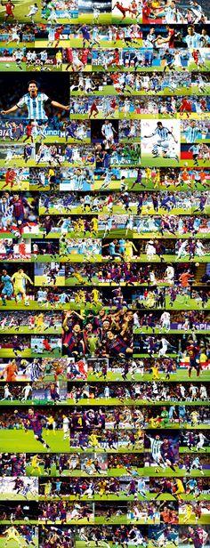 Lionel Messi poster 2015 season