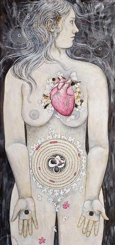 Rebirth Of Venus by Sheri Howe - Rebirth Of Venus Painting - Rebirth Of Venus Fine Art Prints and Posters for Sale Sacred Feminine, Divine Feminine, Planeta Venus, Venus Astrology, Venus Painting, Venus Tattoo, Venus Symbol, Namaste, John William Godward