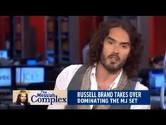 Does Russell Brand have a Messiah Complex?