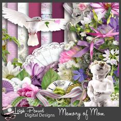 kit Memory of Mom by Leigh Penrod http://www.godigitalscrapbooking.com/shop/index.php?main_page=product_dnld_info&cPath=29_387&products_id=24466