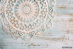 "Download the royalty-free photo ""Shabby chic background for wedding, valentines day or mother day with vintage lace on old, painted wood background. Top view with copy space."" created by stillforstyle at the lowest price on Fotolia.com. Browse our cheap image bank online to find the perfect stock photo for your marketing projects!"