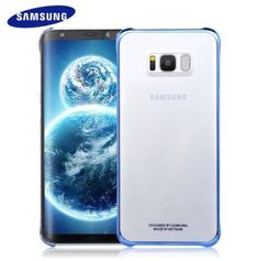 Samsung-S8-S8-Plus-100-Original-Case-Cover-Clear-Transparent-protective-shell