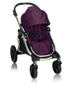 Just ordered this for the baby and toddler sissy..Baby Jogger City Select in Amethyst  W/ second seat and carseat adaptor. The Bentley of strollers.