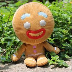 Kawaii Pokemon Plush Toys Pelucia Shrek Gingerbread Man Bigheadz Shrek Movie Minion Toys For Children Kids Toys Minion Toy, Minion Movie, Minions, Toy Story 3, Gingerbread Man Shrek, Pet Toys, Kids Toys, The Son Of Man, Kawaii