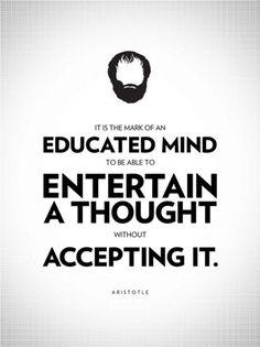 Aristotle - Philosophy Poster