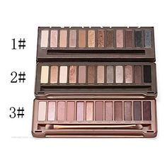 Professional 12 Colors Eye Shadow Makeup Set – USD $ 5.39