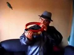 Enjoy the uniquely Mapuche circular trumpet known as the trutruka.  All Around This World (.com)   ▶ Trutruca mapuche florentino millaqueo 1 - YouTube