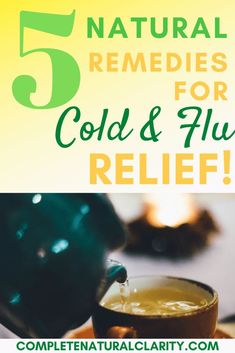 5 Natural Remedies to Get Over a Cold & FLU FAST! Plus, 3 Vitamin Deficiencies to Look Out For! These health tips for the whole family will keep your immune system strong, while fighting off bacteria and viruses that are so prevalent during cold & flu season. These Wellness tips are also great all year long to be healthy, happy, and thriving! Click to read more!  #alternativemedicine #coldandfluseason #flurelief #immuneboost #naturalremedies #vitamindeficiencies #wellness #herbalremedies