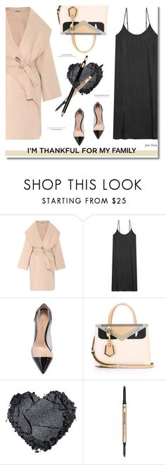 """I'm Thankful For ...  My Family ... 2017"" by greta-martin ❤ liked on Polyvore featuring Bottega Veneta, American Vintage, Gianvito Rossi, Fendi, It Cosmetics, Clarins, family, contestentry and thanksgiving"