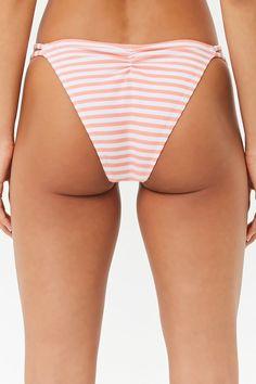 ef4dc71418f Striped String Bikini Bottoms | Forever 21 Forever 21, One Piece,  Perneiras, Compras