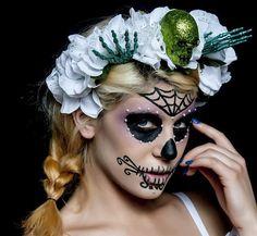 Dia de los muertos head band from ETSY