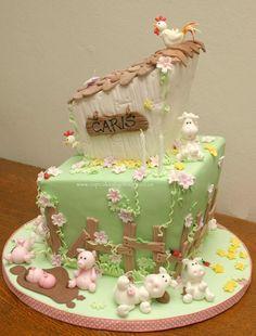 Farm Themed Cupcakes & Cookies