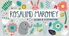 Rosalind Maroney for the Print & Pattern Blog Directory