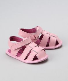 Another great find on #zulily! Pink Fisherman Sandal #zulilyfinds