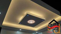 Simple Ceiling Design, False Ceiling Design, Pop Design, Rooftop, Lighting, Home Decor, Ceiling Finishes, Rooftops, Decoration Home