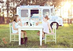 ice cream session!Or a lemonade stand? Or a tea party?