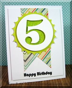 acs paper creations: 5th Birthday ~