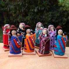Mini Maquis Mapuche y aymara | HEBRAS DEL ALMA artesanía chilena..