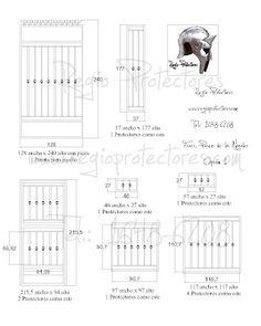 Protectores para ventanas y puertas, Fracc. Paseo de los Nogales, #298 Opción 1 plano