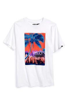 Vans 'Jawsome' Graphic T-Shirt (Big Boys)