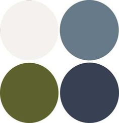 Modern Interior Design, 9 Decor and Paint Color Schemes that Include Gray. Possible basement colors to go with the green couch?