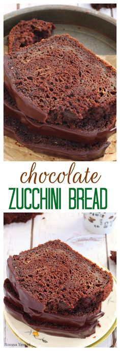 Specks of zucchini and a double dose of chocolate make this chocolate zucchini bread a favorite treat when you're looking for a chocolate fix without feeling too guilty.