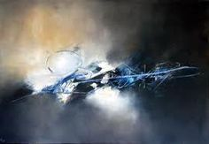 Moonlight - Art Abstrait - Peinture Abstraite