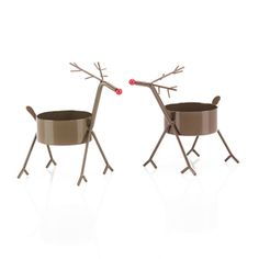 Mini Reindeer (Set of 2)  These are a must have!!!!  www.finestcandles.c