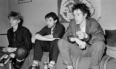 Public Image Ltd ... (left to right) Keith Levene, Jah Wobble and John Lydon. Photograph: Janette Beckman/Getty Images